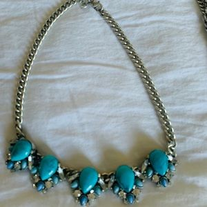 Statement turquoise necklaces